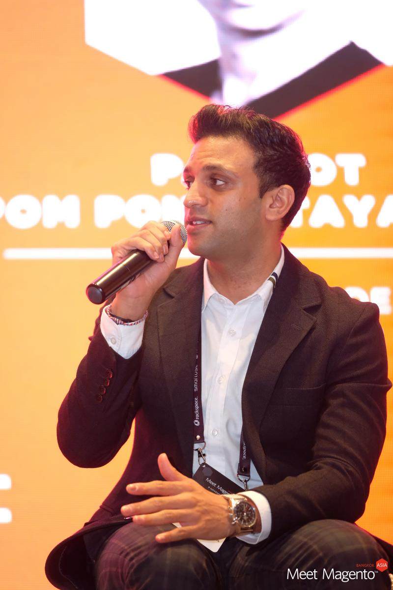 Bhavin at Meet Magento Asia 2018